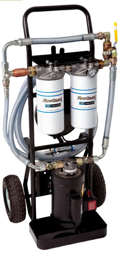 Alyvos Filtravimo vežimėlis